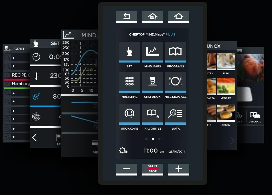 pantalla tactil UNOX
