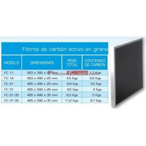 FILTRO DE CARBON ACTIVO EN GRANO