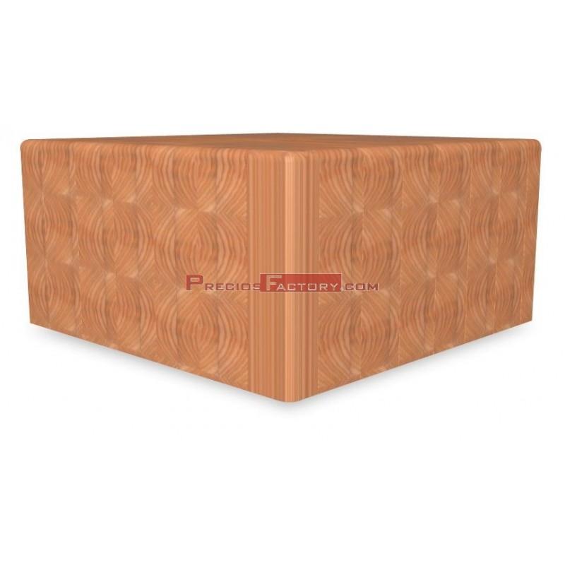 Repuesto de maza madera de abedul 400x400x250 mm - Madera de abedul ...