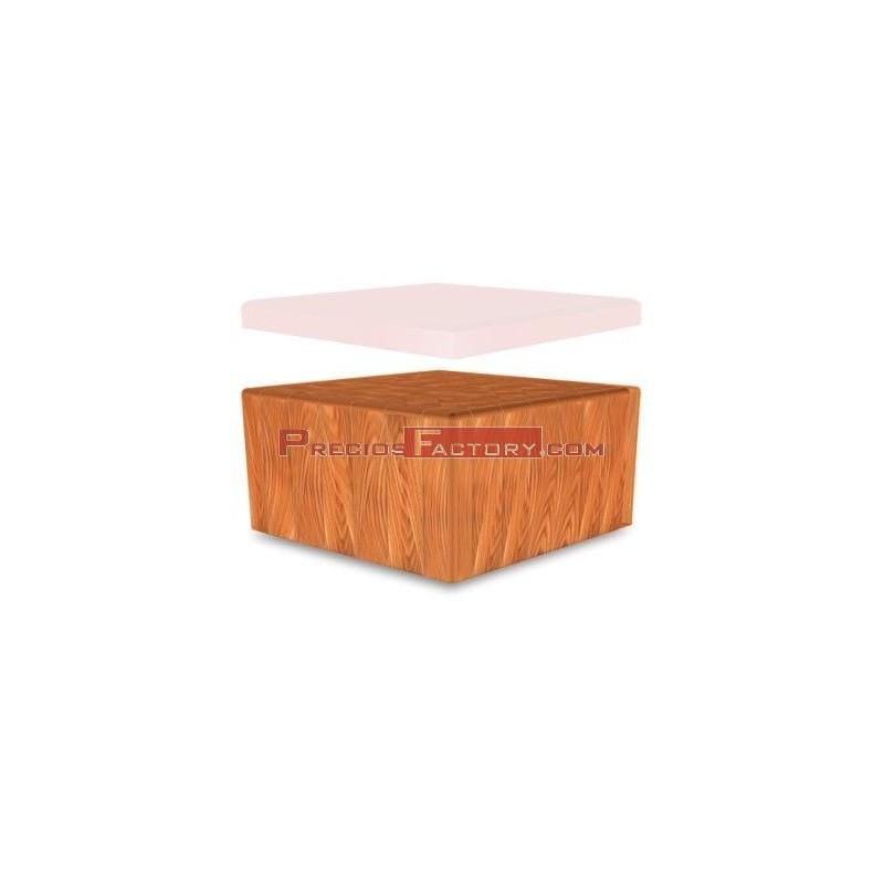 Repuesto de maza madera de abedul 400x400x200 mm - Madera de abedul ...