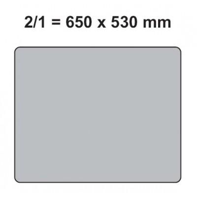 CUBETA GN 2/1 - INOX 201 0,8 MM