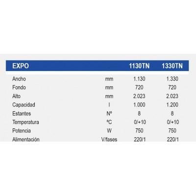 Armario Expositor-MESFRED-EXPO PUERTAS PIVOTANTES
