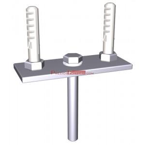 Kit de fijación a techo para estanterías suspendidas