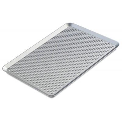 Bandeja pastelera de aluminio perforada