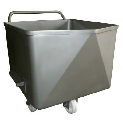 Carro bañera para elevador 100 y 200 litros