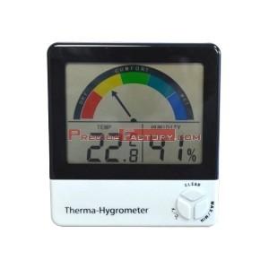 Termohigrómetro con indicador de confort