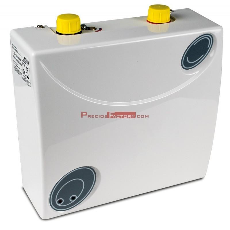 Calentador de agua a red 35 c a 50 c de 187x80x132 - Termo calentador de agua ...