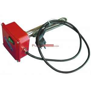 Resistencia eléctrica de 1.000 w. con interruptor