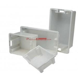 Cubetas barreños industriales plástico blanco