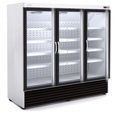 EXPOSITOR 3 PUERTAS CRISTAL. Refrigeración o congelación