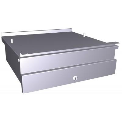 Imagén: Cajón acero inoxidable para acoplar a mesa