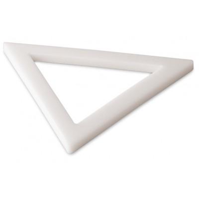 Triángulo de polietileno