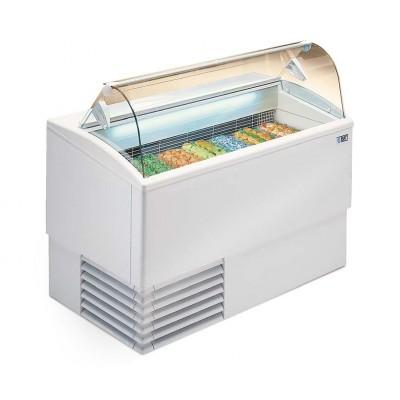 Vitrina helados Isetta TP. Cristal curvo o recto