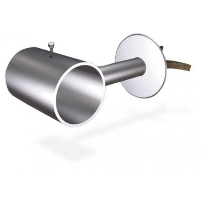 Soporte inox lateral a atornillar para tubos