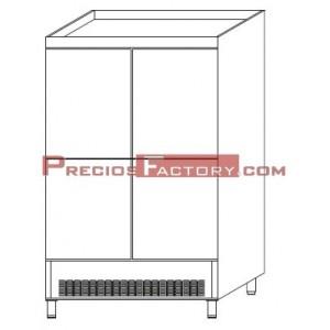 ARMARIO FRIGORIFICO ASD-125 4 PUERTAS