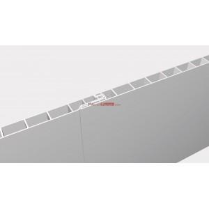 LAMA ALVEOLADA PVC LISA PARA TECHOS y PAREDES. Espesor 10 mm.