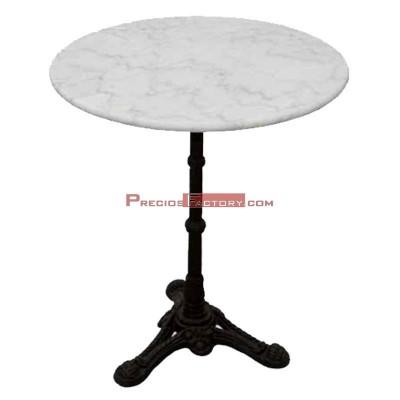 Mesa de mármol redonda 60 cm