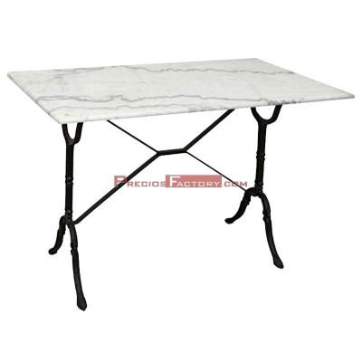 Mesa de mármol 100x60 cm