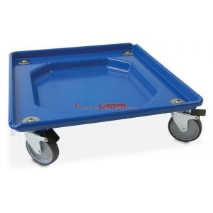 Plataforma transporte cestos lavavajillas con freno