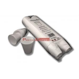 Vasos isotérmico 200 cc de porex / foam blanco. 1.000 ud