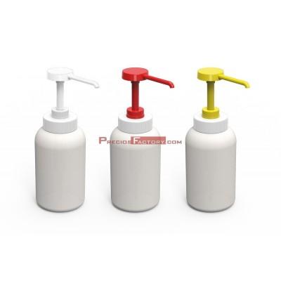 Dispensador de salsa con dosificador. 1 litro