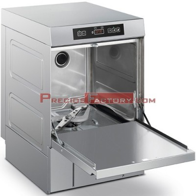 Lavavasos SMEG UG401 cesta 400x400 mm. Electrónico.