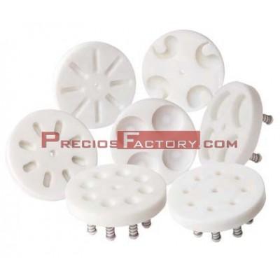 Dosificadoras de hamburguesas: permiten elaborar hamburguesas desde 20 hasta 100 mm de diámetro máximo y 25 mm de grosor