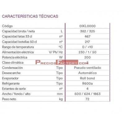 ARMARIO EXPOSITOR PUERTA CRISTAL D372 M4