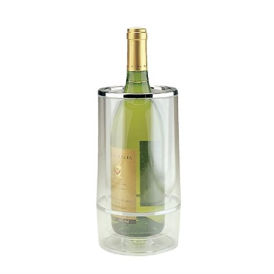 Enfriador de botellas de vino de acrilico transparente c238