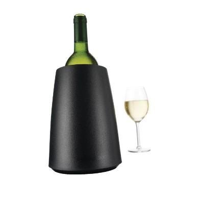 Enfriador de botellas de vino rapido negro cd411