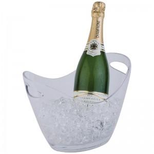 Bol para vino y champan acrilico claro Pequeño cf310