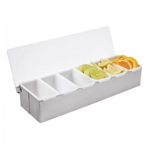 Dispensadores de condimentos 6 compartimentos k489