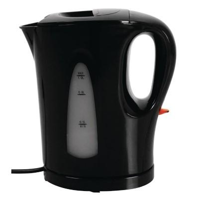 Hervidor agua Caterlite plastico negro ck827