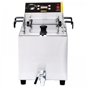 Cocedor de pasta Buffalo con temporizador gh160