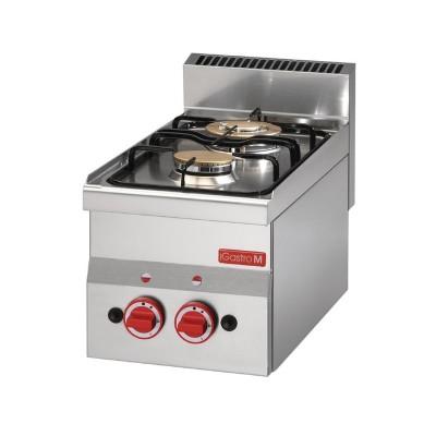 Cocina gas Gastro-M 2 quemadores 60/30 PCG gl900