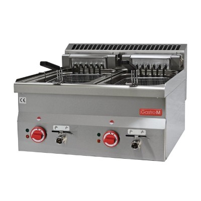 Freidora electrica Gastro-M 10 + 10 litros 60/60FRE gl909