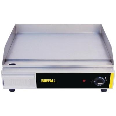 Plancha electrica sobremesa 500x 310mm Buffalo l515