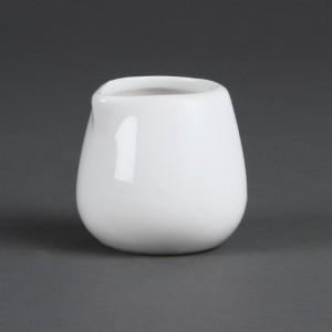 Jarras de crema y leche blancas 228ml Olympia c205