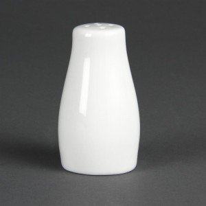Pimenteros blancos 90mm Olympia. 12 ud. c214