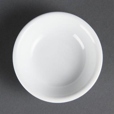 Fuentes de soja blancas 74mm Olympia. 12 ud. c320