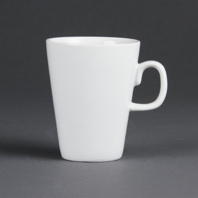 Taza latte blanca Olympia 284ml. 12 ud. c359