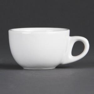Tazas espresso blancas 85ml Olympia cb464