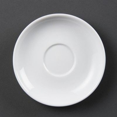 Platos de taza espresso blancos Olympia cb465