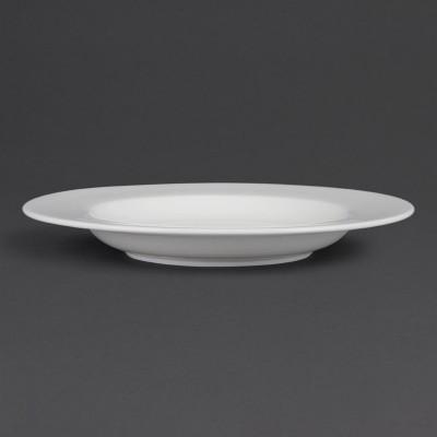 Platos de pasta blancos 310mm Olympia. 4 ud. cb485