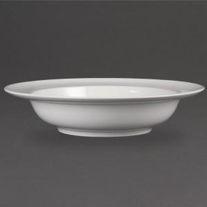 Bols borde ancho blancos 228mm Olympia. 4 ud. cb694