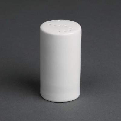 Saleros blancos 80mm Olympia. 12 ud. cb702