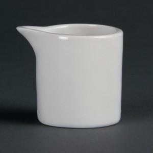 Jarras de leche y crema blancas 57ml Olympia cb704