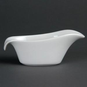 Salsera porcelana blanca Olympia 85ml cb707