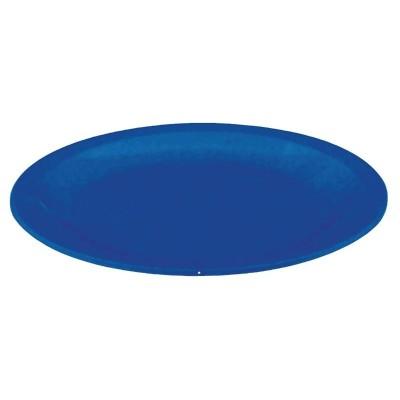 Plato de policarbonato azul 172mm Kristallon. 12 ud. cb765