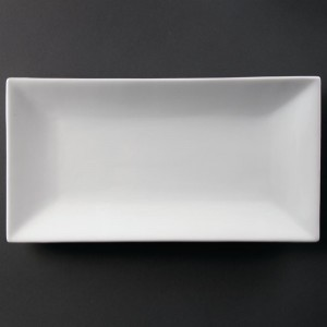 Fuente para servir rectangular 380 x 200mm Olympia cc896
